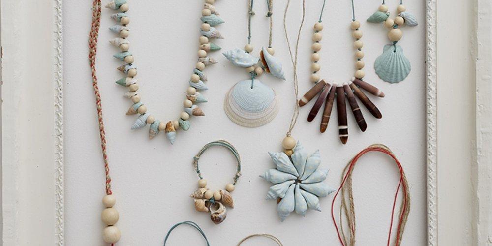 Comment créer des bijoux avec des coquillages ?