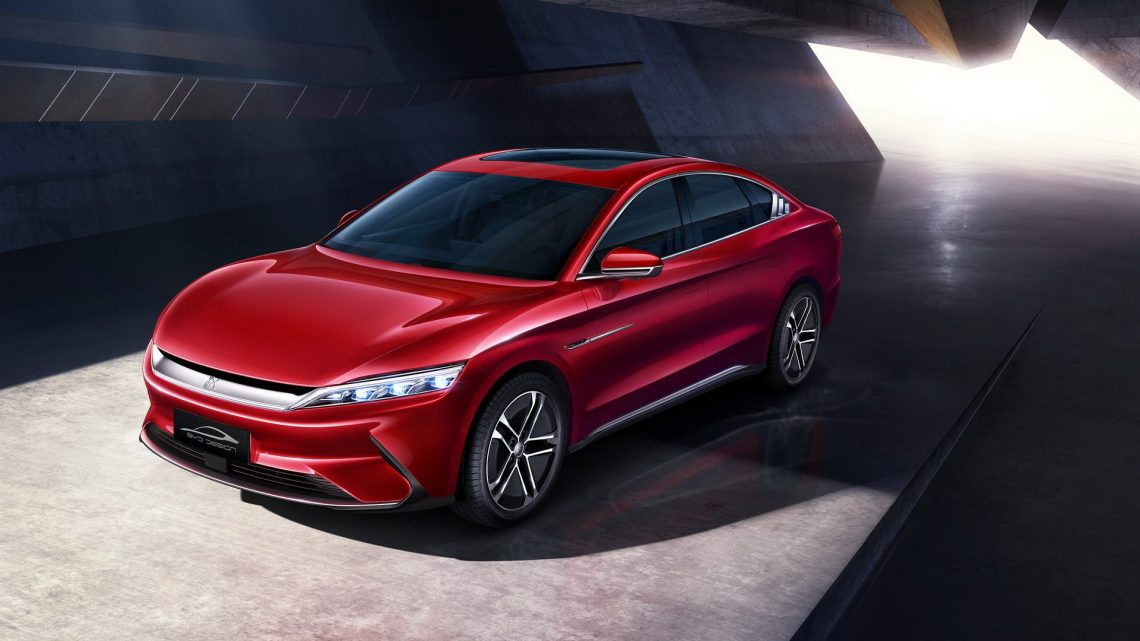 Le produit phare de BYD, à savoir la série Han EV, est officiellement mis en vente